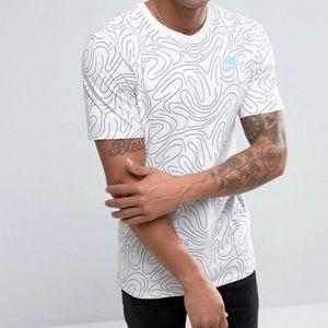 Nike Black White Swirl Tee